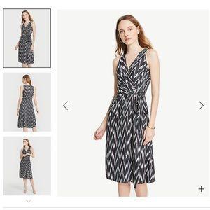 Ann Taylor Belt Wrap Dress